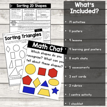 {Grade 1} Geometry and Spatial Sense Activity Packet
