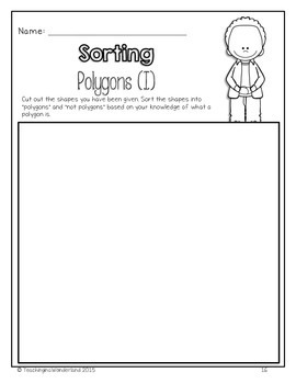 {Grade 2} Geometry and Spatial Sense Activity Packet