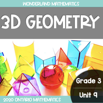 {Grade 3} Geometry and Spatial Sense Activity Packet