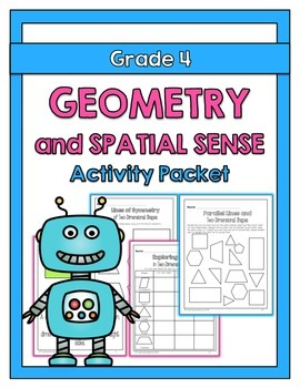 {Grade 4} Geometry and Spatial Sense Activity Packet
