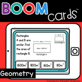 Geometry for 4th Grade Distance Learning Boom Cards