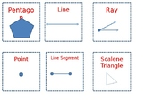 Geometry for 4th Grade Heads Up Cards
