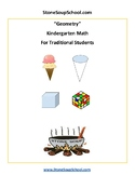 K - Geometry -  Common Core