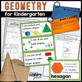 Geometry for Kindergarten - Shapes and Positional Words