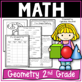 Geometry Activities Worksheets and Games   Geometry and Fractions for 2nd Grade