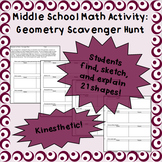 Geometry in Nature - A Scavenger Hunt