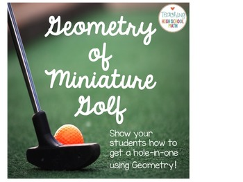 Geometry of Miniature Golf Project