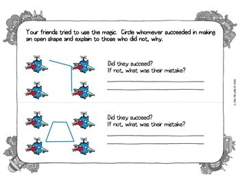 1st to 4th Grade Geometry of Shapes Workbook - Common Core Aligned