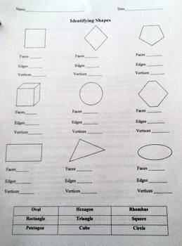 Geometry shapes