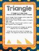 Geometry vocabulary poster set