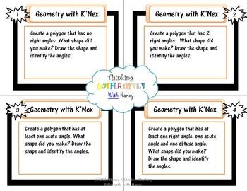 Geometry with K'Nex