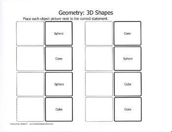 Geometry:3D Shapes