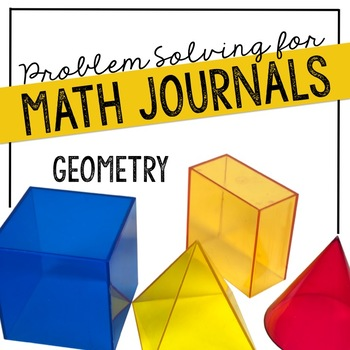 Geometry Problem Solving for Interactive Notebooks or Math Journals