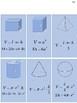 Geomety Formula Sheet