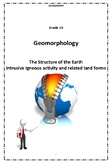 Geomorphology - Intrusive Igneous Activity and Associated