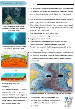Geomorphology - Structure of the Earth