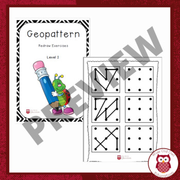 Geopatterns Redraw Exercises (Level 1)