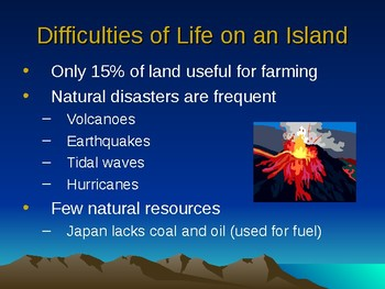 Geography and Culture of Japan PPT