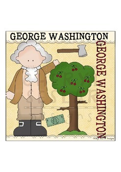 Georage Washington ~NO LICENSE REQUIRED CLIPART COLLECTION~