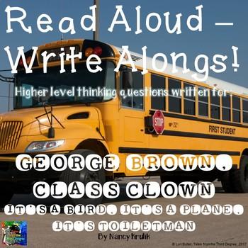 George Brown, Class Clown #17 Read Aloud Write Along