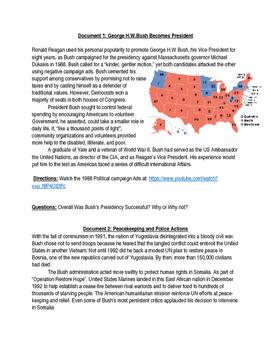 George Bush Sr- Persian Gulf War Lesson Plan