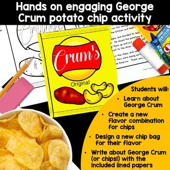 Black History Crafts George Crum Craft Biography Potato Chips