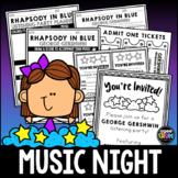 George Gershwin Music Night [Family Listening Planner] - J