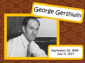 George Gershwin: Musician in the Spotlight