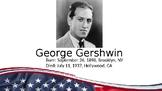 George Gershwin PowerPoint/Listening Activity
