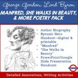 George Gordon, Lord Byron Poetry Pack