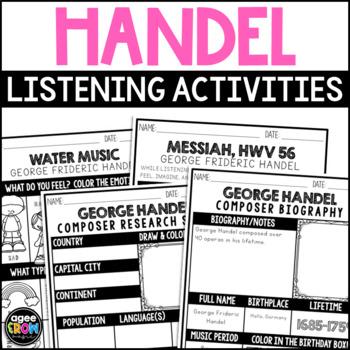 George Handel, Classical Composer Music Unit Study, February Birthday