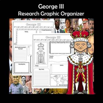 George III Biography Research Graphic Organizer