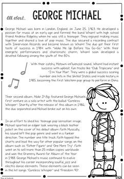 George Michael Musical Study