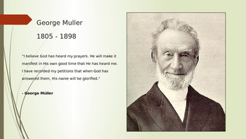 George Muller Introduction