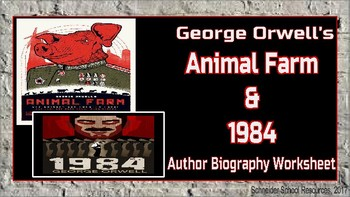 animal farm author biography