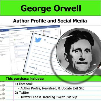 George Orwell - Author Study - Profile and Social Media