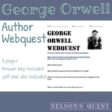 George Orwell Author Webquest