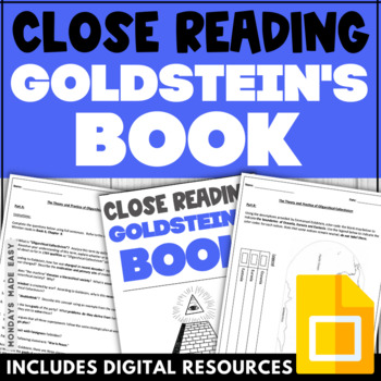 """1984: CLOSE READING ACTIVITY 