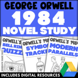 1984 UNIT Novel Study Guide DIGITAL AND PRINTABLE Literatu