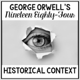 George Orwell's 1984 Historical Context Jigsaw Activity