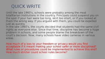 George Orwell's 1984 Initial Lesson