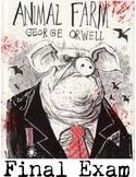 "George Orwell's ""Animal farm"" Final Exam"