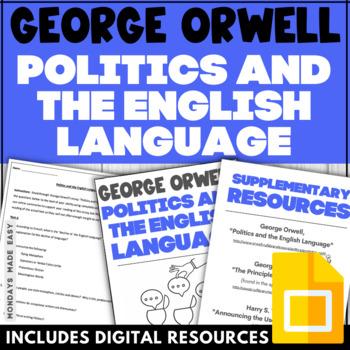 politics and the english language purpose