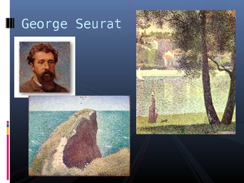 George Seurat Power Point Assessment