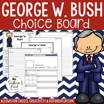 George W. Bush Choice Board