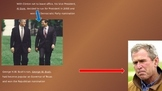 George W Bush powerpoint