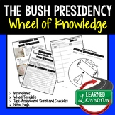 George W. Bush's Presidency Activity, Wheel of Knowledge