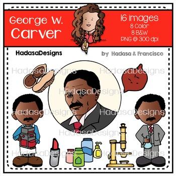 George W. Carver Clip Art Mini Combo Pack