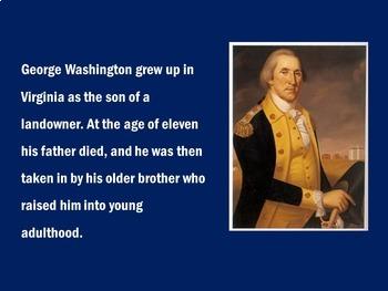 George Washington PowerPoint | George Washington Activity