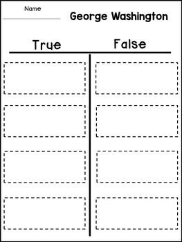 George Washington Close Reading Passage and Activities